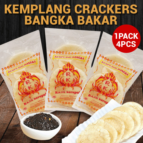 INDONESIAN FOOD Kemplang Crackers Bangka Bakar Purnama Deals for only Rp30.000 instead of Rp30.000