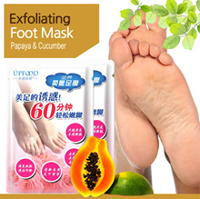 BUY 1 FREE 1!! [ UPFOOD ] Exfoliating Foot Peeling Renewal Mask / Remove Dead Skin Cuticles Heel