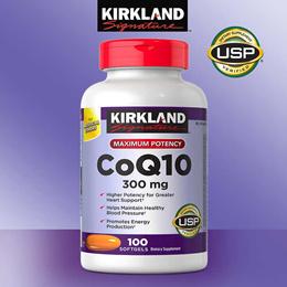최저가 미국 커클랜드 코큐텐  Kirkland Signature CoQ10 300 mg  100 Softgels 코엔자임
