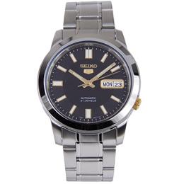 SNKK17K1 SNKK17K SNKK17 Seiko 5 Automatic Stainless Steel Strap Analog Male Casual Watch