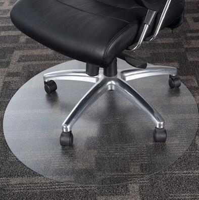 Fine Pvc Clear Wooden Floor Protection Pad Waterproof Non Slip Round Swivel Chair Floor Mat Office Boss C Machost Co Dining Chair Design Ideas Machostcouk