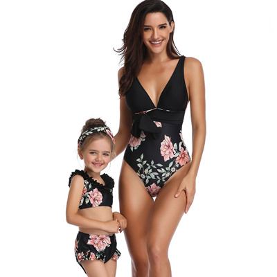 8a7a208c9a1 ARLONEET mother and daughter swimsuit mommy and me Sexy Bikini swimwear  family matching clothes mum