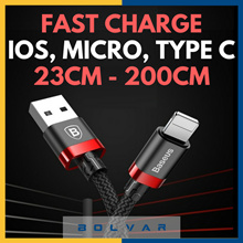 ⚡ Fast Charging ⚡ USB / Type-C Cables to Lightning / Micro / Type-C ⚡