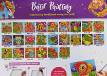 Batik Painting Kit Part 1 Design 1-20: Art and Craft / Party