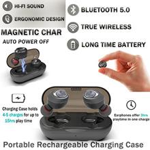 Capsule Wireless TWS Earbuds V5.0 Bluetooth Earphone Headset
