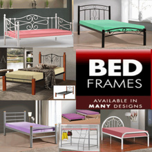 SINGLE AND SUPER SINGLE BED FRAME / PULL OUT / BUNK BED | FREE INSTALLATION AND DELIVERY