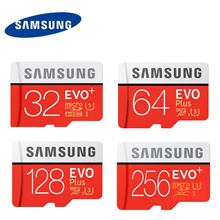 Samsung EVO Plus U3 256GB 128GB 64GB 32GB CL10 Micro SD Memory Card MIcroSD