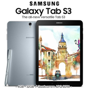 Samsung Galaxy Tab S3 9.7 Wifi model / SM-T820 / SM-T825