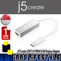 ★Free Shipping★ J5 Create JUA355 USB 3.0 HDMI SLIM Display Adapter ★1 Year Warranty★