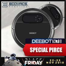 [LOCAL WARRANTY] ECOVACS Deebot N78 Robot Vacuum Cleaner+Dry/Wet Mop+Time Scheduling+Automatic