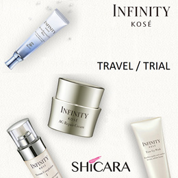 Kose Infinity AMC Travel size - For trial and travel. Try out these travel size