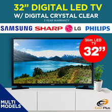 Samsung 32inch Digital LED TV UA32N4000 / Sharp 32inch Smart LED TV 32SA4500 / / philips / LG / 3 Years Warranty
