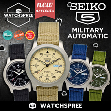 [SEIKO] SEIKO Military Automatic Nylon Strap Watches! SNK805 SNK803 SNK809 SNK805. Free Shipping!