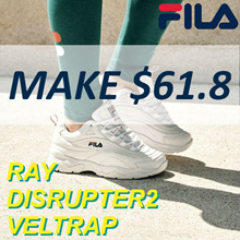 [FILA] FILA HOT ITEMS FILA RAY / FX-VELTRAP / DISRUPTER2 / Flat Price
