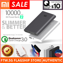 [USE $10 QOO10 COUPON!!] Xiaomi 100% Authentic Wireless Charging Power Bank 🌟Quick Charge 3.0