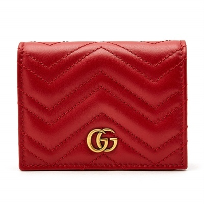 9847d4beb96 GG Marmont Matelasse 466492 DRW1T 6433 Woman Business Card Holder Wallet