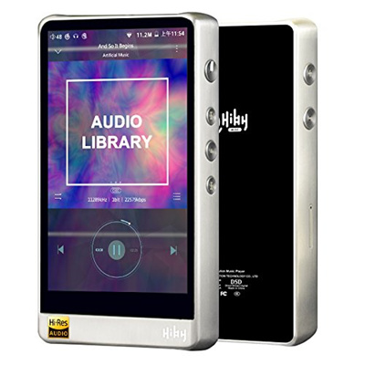 HiBy R6 Hi-Res Certified Android 6 0 Hi-Fi Music Player Portable High  resolution Audio Player(Stainl