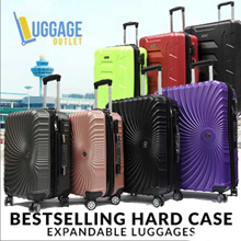 ★Best Seller!★Hard case 8 Wheel Spinner Expandable ABS Luggage Trolley Case with TSA lock