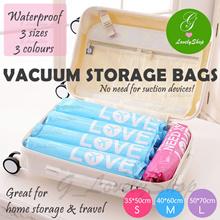 Vacuum Storage Bag Hand Roll Seal Compressed Bags