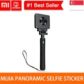 💖READY STOCK💖 [MIJIA PANORAMIC SELFIE STICKER] Xiaomi MiJia 360° Panoramic Camera Kit Black EXPORT
