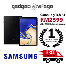 [RM2599 After Applied Digital Coupon] Samsung Galaxy Tab S4 64gb/4gb - Official Samsung Malaysia Set