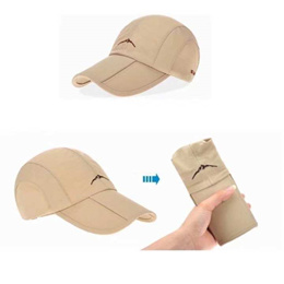 97e8d6e6b3f Men Women Golf Baseball Cap UV Protection Sun block Foldable Breathable Hat  Bucket for Outdoor Sport