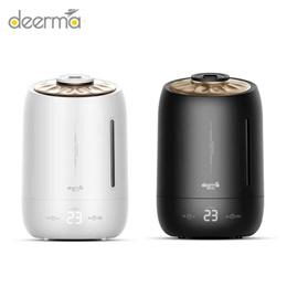 德尔玛空气加湿器家用静音卧室办公室空调大容量香薰机F600