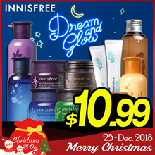 ★BEST SKIN CARE COLLECTION [innisfree] Green Tea / Orchid / Volcanic/Ginger Honey[Beauti Topping]