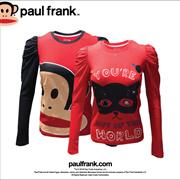 PAUL FRANK   WOMEN LONG SLEEVE TEE