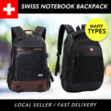(SG SELLER) SWISS LAPTOP LADIES BAG NOTEBOOK BAG BAGPACK OFFICE BAG MENS BAG NOT SWISSGEAR SAMSONITE