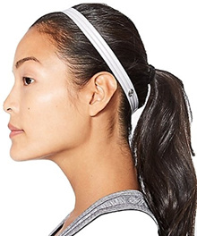 Lululemon Free Flow Headband with Silicone Grip White