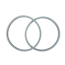 2-pack 22cm(8.7) WMF Compatible Pressure Cooker Silicone Sealing Ring Rubber Gasket for Perfect Plus Pro Ultra