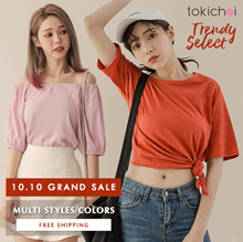 TOKICHOI - 10.10 Grand Sale! Trendy Selected Tops/Multi Colors Multi Styles - Free Shipping
