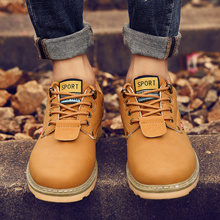 2018 High Quality Men Fashion Dr.Martens Boots Casual Lace Up Leather Low Shoes Boys Casual Shoes