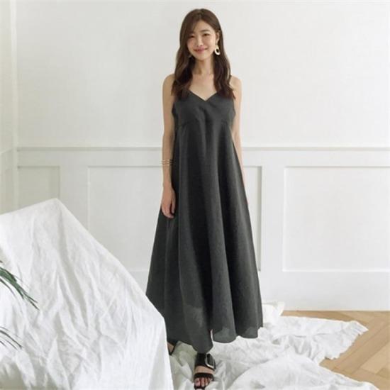 るみさん行き来するようにるみさんるみさんメイロンブィスにワンピース プリントのワンピース/ 韓国ファッション