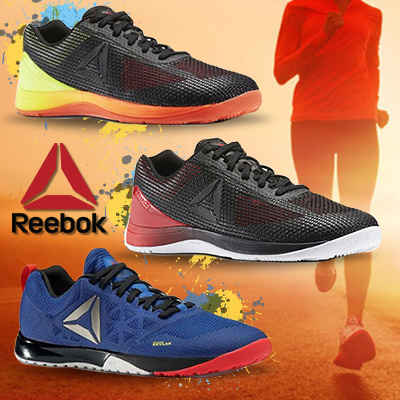 REEBOK CROSSFIT TRAINERS FOOTWEAR SHOES CROSS FIT FITNESS SHOE RUNNING GYM  SNEAKERS HIKING TREKKING d867de180