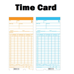 Time Recorder Punch Card 100pcs