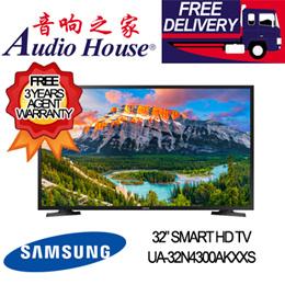SAMSUNG UA-32N4300AKXXS SMART HD LED TV ***3 YEARS SAMSUNG WARRANTY***