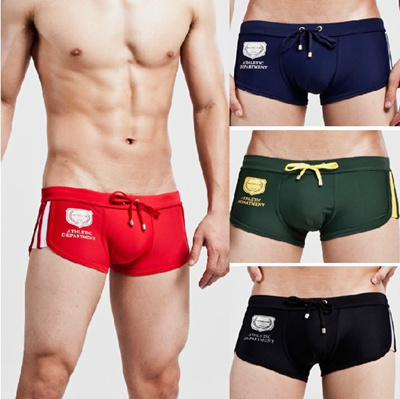 df3ac505b6c6c Mens Swimming Swim Shorts Trunks Shorts Mens Swim Wear Boxer Gay Men Sexy  Swimwear 1320806