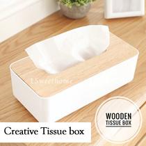 SAFEBET Wooden Tissue Box/ Tissue Holder