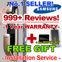 [★In STOCK!!+FREE GIFT!!★] SHP-DP930 / SAMSUNG FINGERPRINT DIGITAL DOORLOCK EZON Door Lock