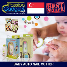 [Local Seller] ★BABY SAFETY★ ZoLi / LittleBees Baby Auto Nail Cutter / Electric Nail Trimmer