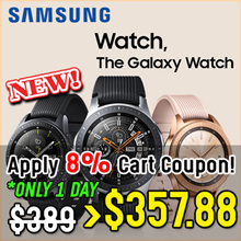 ★No GST★samsung Galaxy Watch Bluetooth connection Android and iOS smartphones SM-R810 We have stock!