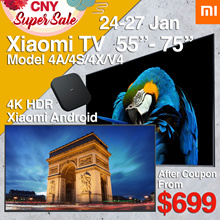 [xiaomi]Fast Delivery Local Dealer❤Xiaomi Smart Android 4K TV 55 65 75