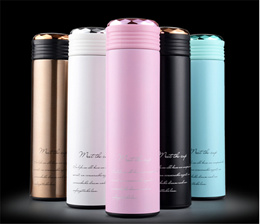 304 Stainless Steel Vacuum Business Gift Mug Office Advertising Cup Vacuum Cups Thermal Bottles