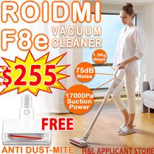 FREE ANTI DUST MITE Xiaomi Roidmi F8e handheld cordless vacuum cleaner
