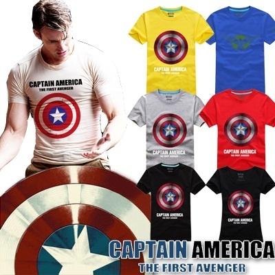 captain america t shirt singapore