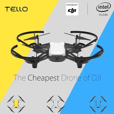DJI TELLO DRONE WHITE/TELLO W/EXTRA BATTERY - LOCAL WARRANTY/ READY STOCK