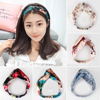 bad7132f760 Vintage Turban Headbands For Women Simple Hair Accessories Korean Kpop  Hairband Ladies Headband