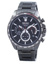 [CreationWatches] Seiko Chronograph Quartz Tachymeter SSB311 SSB311P1 SSB311P Mens Watch